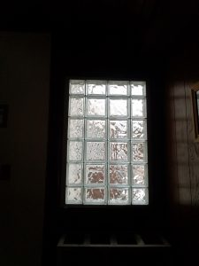 Glass Block Window From Inside