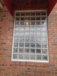Large Glass Block Window