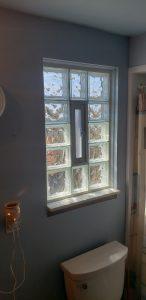 Glass Block Window From Inside