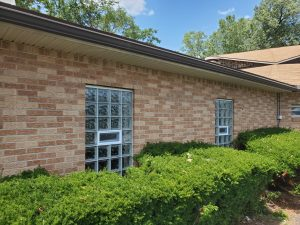 Glass Block Windows With Vents
