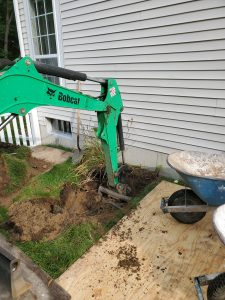 Digging Out a Well