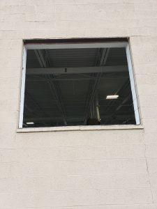 Before Installation of Glass Blocks