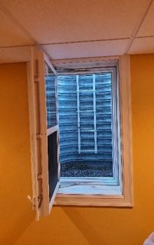 Egress Window From Inside