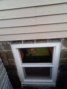 Egress Window Inside Well