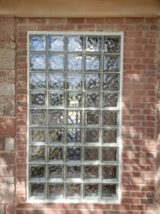 Glass Block Window Installation