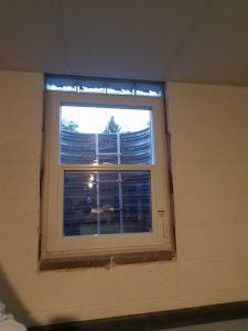 Inside View Egress Window