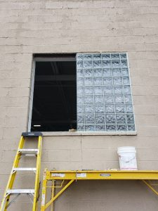 Installation of Glass Blocks